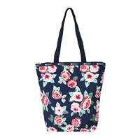 LeSportsac Daily Tall Tote Navy Rose