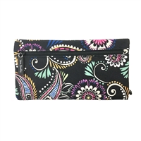 Vera Bradley Pencil Pouch Double Zip Case