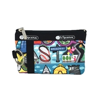 LeSportsac Zip ID Card Case Limited Edition NYC
