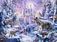 SunsOut Castle Wolves 500 Piece Jigsaw Puzzle