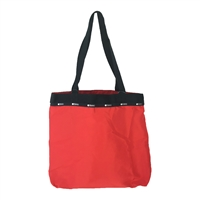 LeSportsac Simply Square Tote Travel Packable Bag