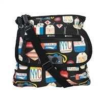 LeSportsac Travel System Flight Crossbody Bag