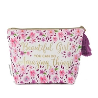 Beautiful Girl Amazing Things Carry All Cosmetic Clutch