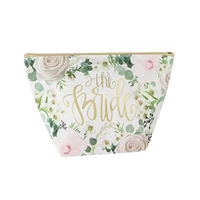 The Bride Floral Print Mini Carryall Cosmetic Case