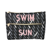 Swim and Sun Swimwear Ditty Bag with Sunglass Holder