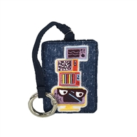 LeSportsac Card Holder Charm FOB Eddie