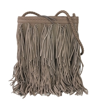 Sam Edelman Jane Fringe Leather  Crossbody Bag