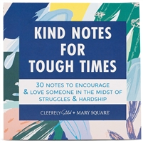 Kind Notes for Tough Times Booklet Book of 30 Inspirational Mini Cards