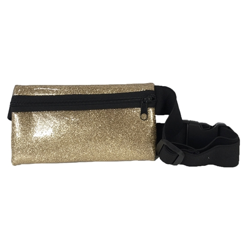 TCD Active Fit Glitter Sports Waist Bag Phone Fanny Pack