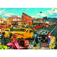SunsOut Willie's Pool Hall Nostalgic America 500 Large Piece Jigsaw Puzzle