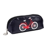 Easy Rider Zip Cosmetic Make Up Case, Bicycle