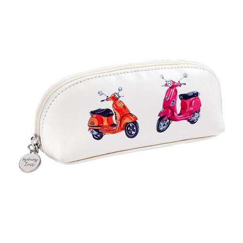 Easy Rider Zip Cosmetic Make Up Case Vespa
