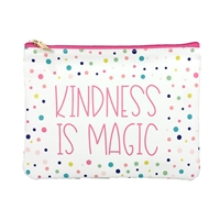 Mary Square Kindness is Magic Multi Purpose Pouch Zip Case