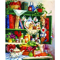 SunsOut Grandma's Cupboard 1000 Pc Jigsaw Puzzle