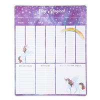 Stay Magical Unicorn Weekly Planner Desk Pad