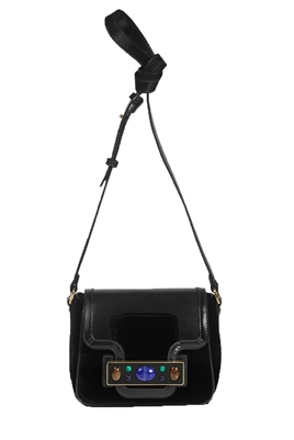 Tory Burch Jeweled Velvet Shoulder Bag