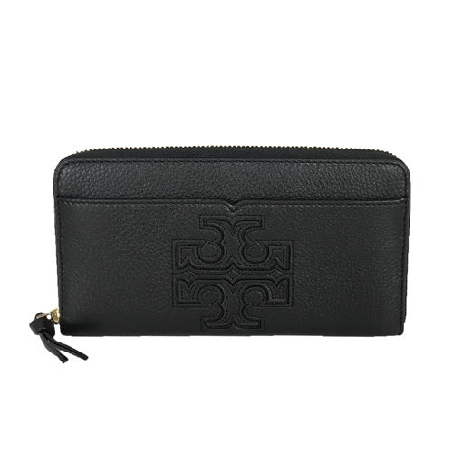 Tory Burch Harper Leather Zip Around Continental Wallet