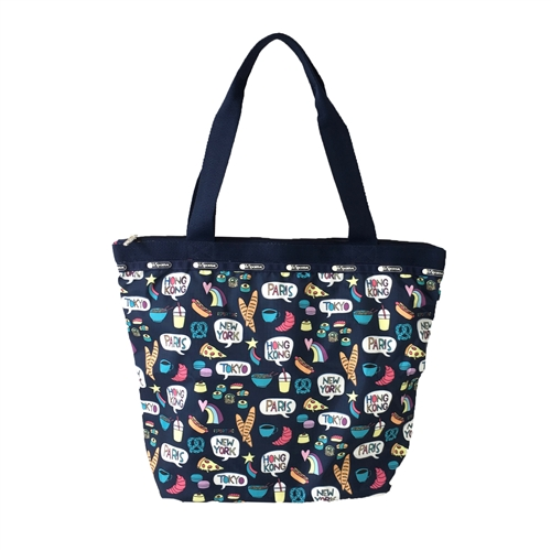 LeSportsac Hailey Tote Food Talk