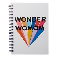 Wonder WoMOM Hardcover Spiral Notebook