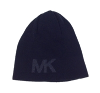 Michael Kors  Reversible MK Knitted Beanie Hat