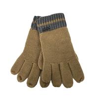 b17cde7a93be Michael Kors Striped Trim Knit Gloves ...