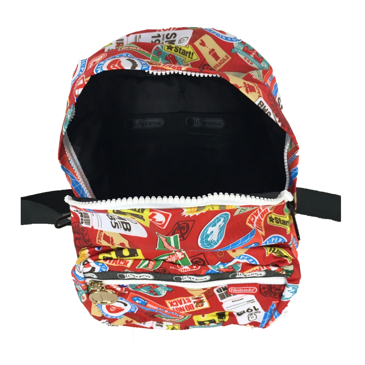 05a860f9caf7 LeSportsac x Nintendo Cruising Small Backpack