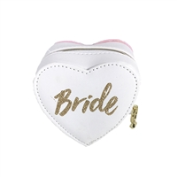 Bride Script Heat Jewelry Box Travel Case