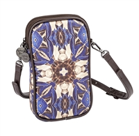 Sydney Love Kaleidoscope print Vegan Leather Phone Crossbody Bag
