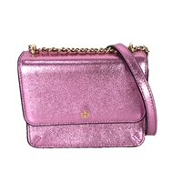 Tory Burch Crinkle Metallic Mini Shoulder Bag