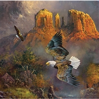 SunsOut Sedona Eagles 500 PC Jigsaw Puzzle