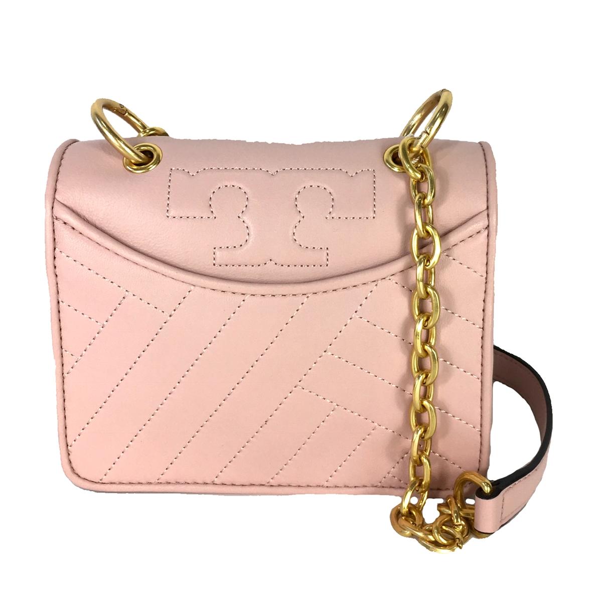 1d7ed6c5db53 Tory Burch Alexa Quilted Chain Mini Shoulder Bag