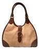 Michael Kors Hudson Large Suede Shoulder Tote
