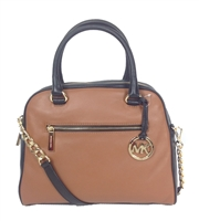 Michael Kors Knox Large Leather Satchel