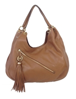 Michael Kors Charm Tassel Large Shoulder Tote