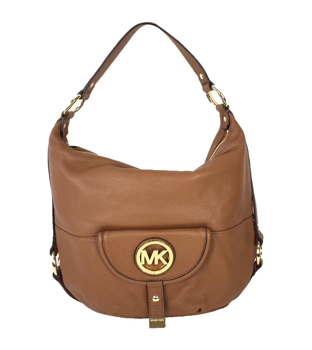 1c5721ae956b Michael Kors Fulton Large Leather Shoulder Bag