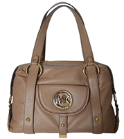Michael Kors Fulton Large Leather Satchel,