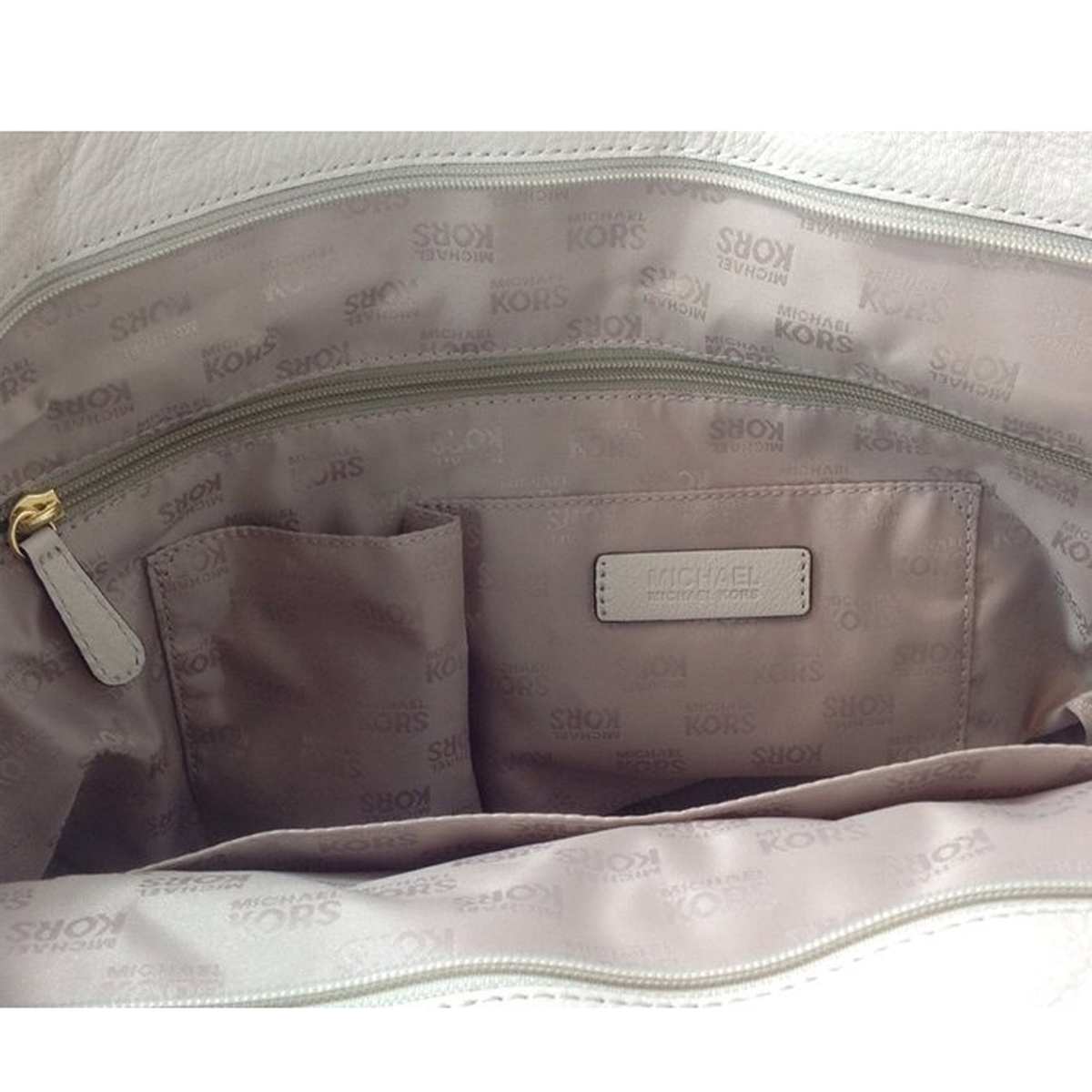 14a099107909 Michael Kors Hudson Downtown Leather Large Tote