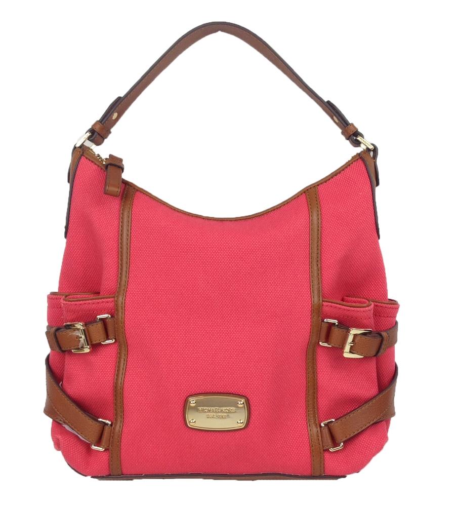 2b9dc6d82e Michael Kors Gansevoort Jacquard Large Top Zip Shoulder Bag ...