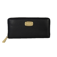 Michael Kors Jet Set Leather Zip Around Continetal Wallet
