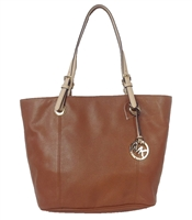 Michael Kors Jet Set Large Leather Tote