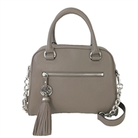 Michael Kors Knox Tassel Leather Medium Satchel