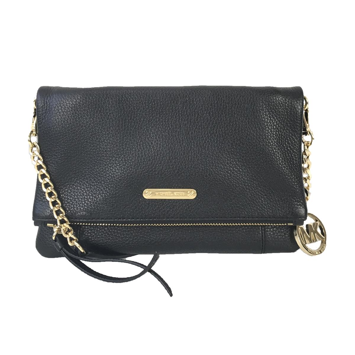 20c98c85752d Michael Kors Corinne Leather MD Messenger Crossbody Bag