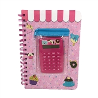 My Sweet Journal Sweets Notebook & Caculator Set
