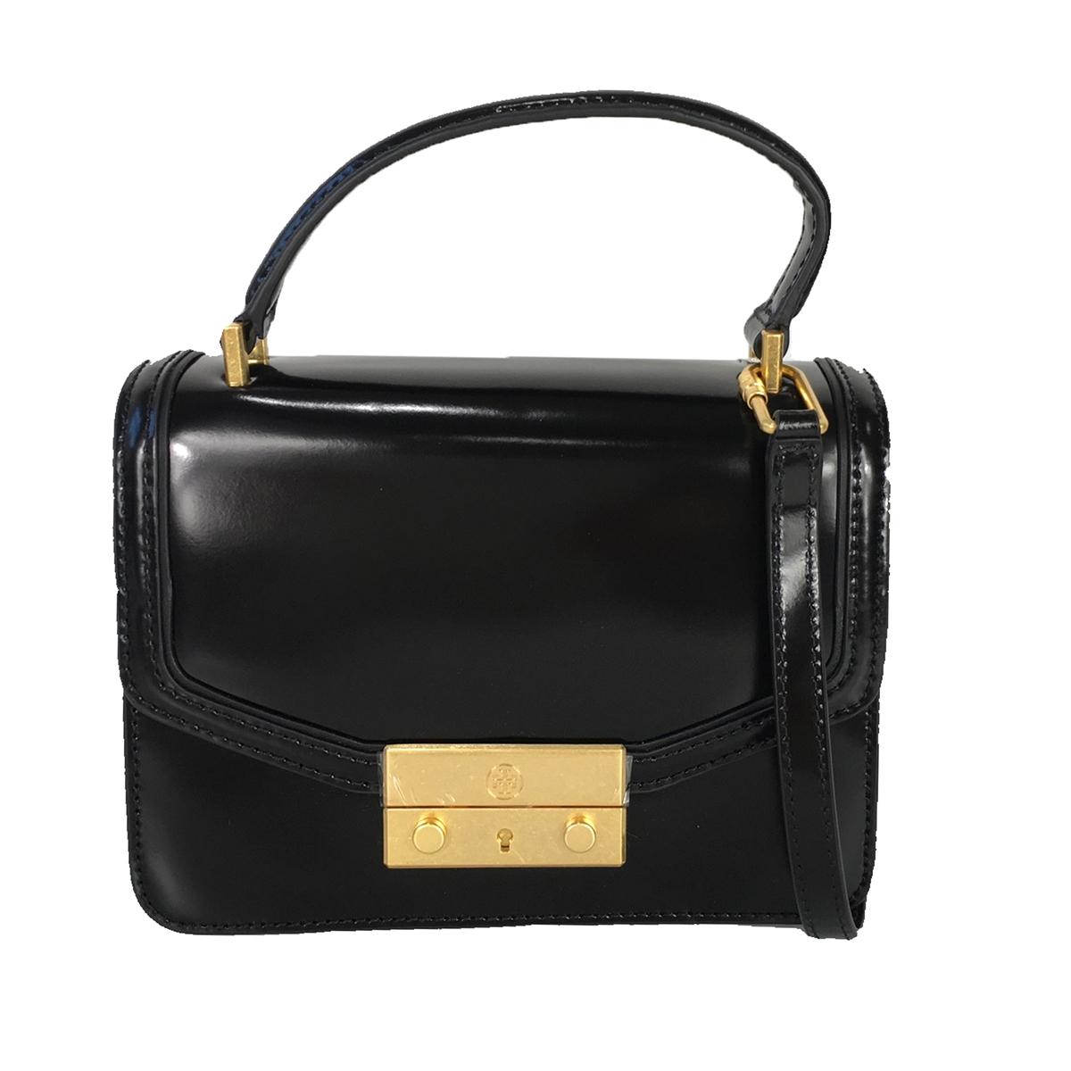 20d81a5e1d5 Tory Burch Juliette Mini Patent Leather Top Handle Satchel ...