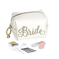 Bride S.O.S. Bridal Essentials Emergency Kit 34 Pc Mini Travel Cosmetic