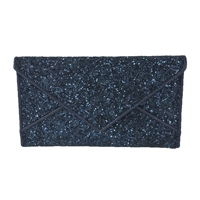 Tory Burch Glitter Encrusted Envelope Clutch