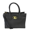 Tory Burch Alexa Leather Center Zip Slouchy Tote