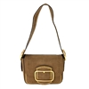 Tory Burch Sawyer Stud Suede Small Shoulder Bag
