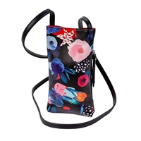 Sydney Love Floral Vegan Leather Phone Crossbody Bag
