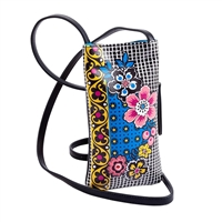 Sydney Love Folard Print Vegan Leather Phone Crossbody Bag